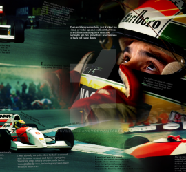 Ayrton Senna: A Truly Outstanding Talent in GP Racing